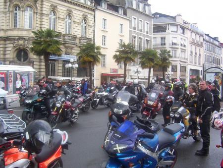 manif FFMC à Pau le 9/04/05
